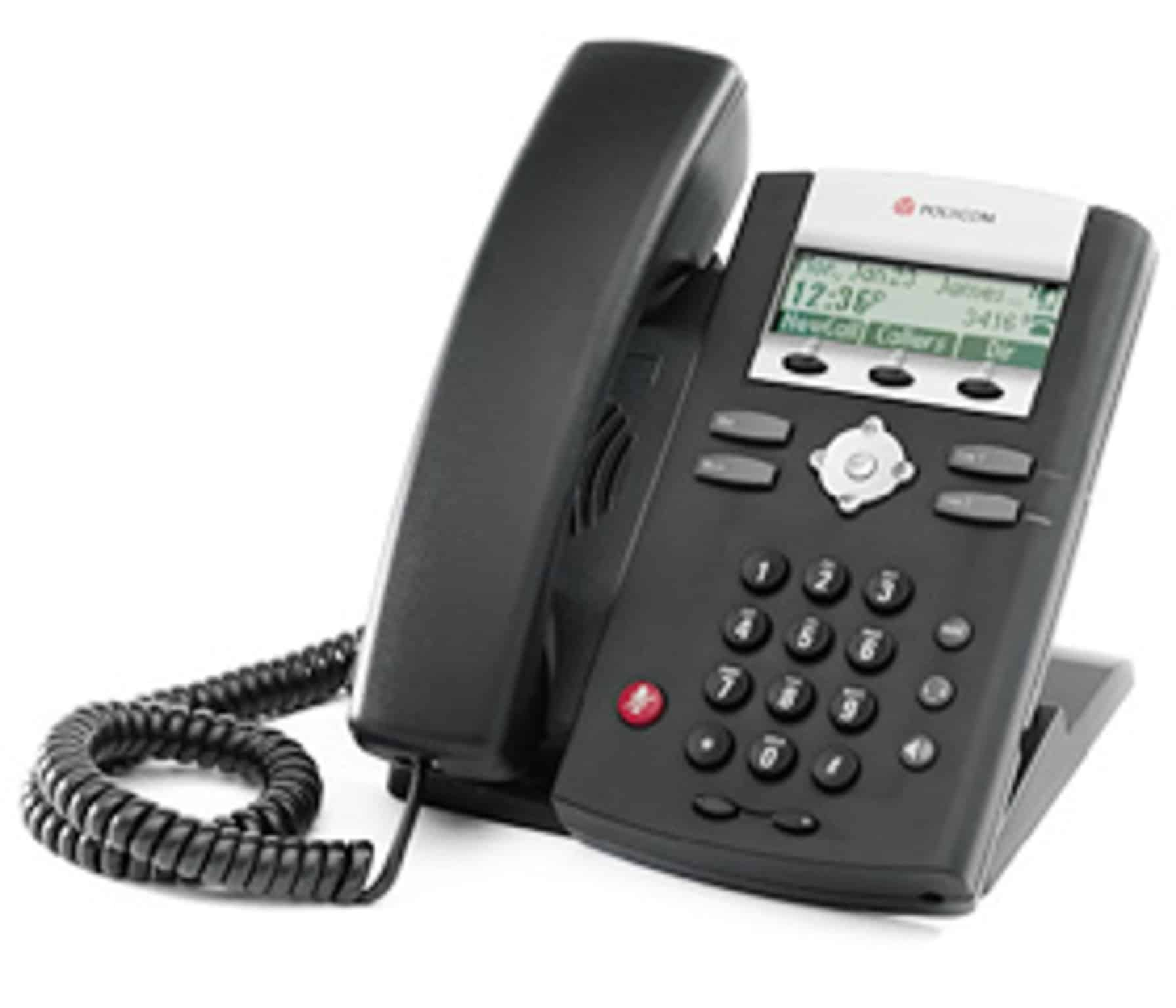 The Polycom IP 331 is a good entry level handset
